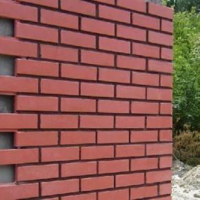 Керамический фасад, облицовка дома