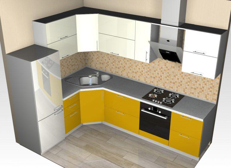 Кухонные угловые мойки