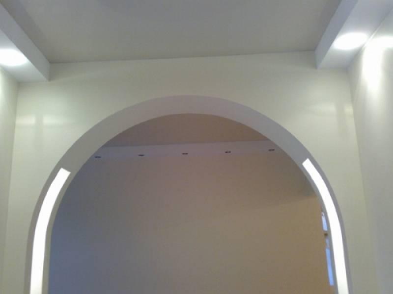 арка из гипсокартона своими руками