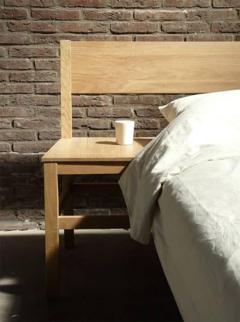 Смесь стула с кроватью: уникальное объединение мебели для спальни