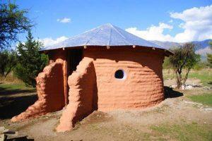 Строительство дома из глины и земли своими руками