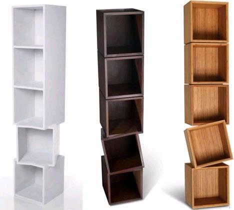 Настенные полки и книжные шкафы
