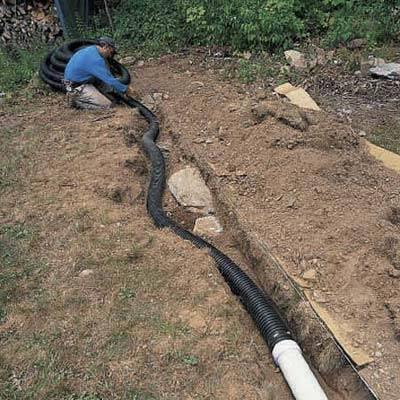 отвод дождевой воды