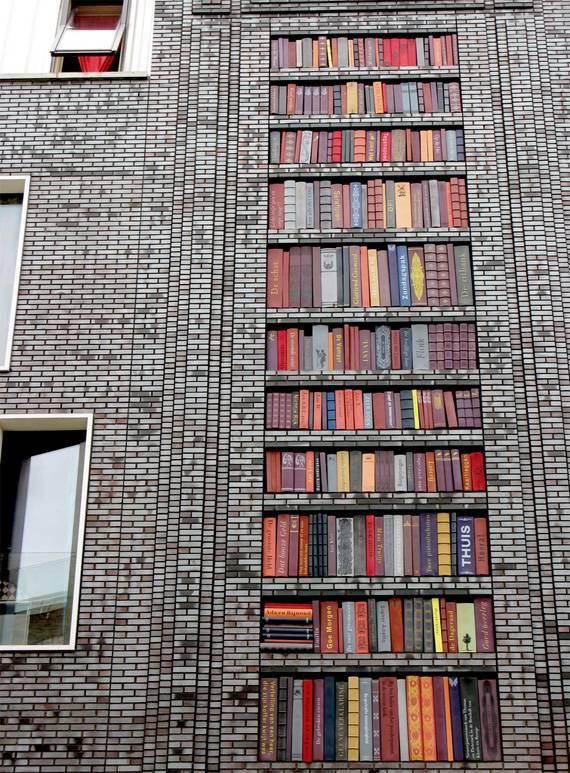 Дизайн книжной полки