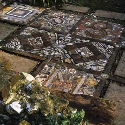 8 примеров кладки мозаики