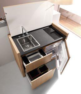 Компактные кухни варианты
