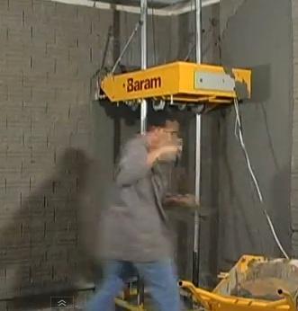 Автоматическая штукатурка стен