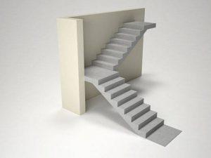 Монолитная лестница, модели