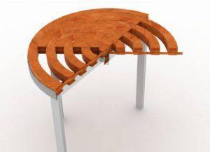 Преобразование стола из древесины