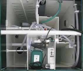 Станция глубокой биологической очистки «Юнилос серии Астра». Вид сверху.