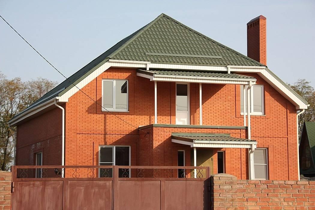 Кирпич - строим дом из кирпича
