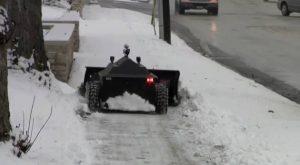 Снегоуборочный робот