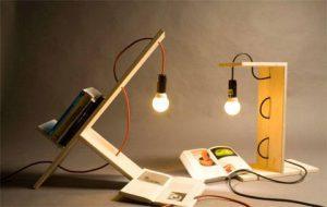 Полка лампа для книг — ShelfLamp