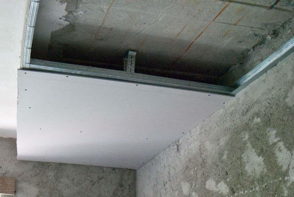 Как сделать гипсокартонную потолочную арку