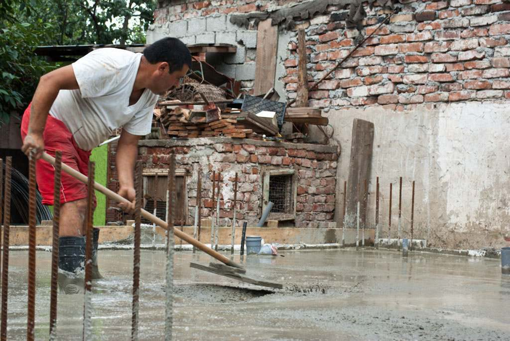 Как закончить бетонную плиту