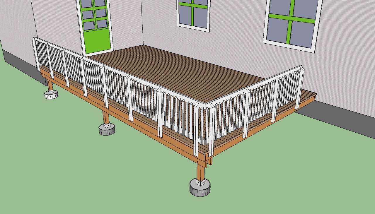 Как построить террасу Инструкция