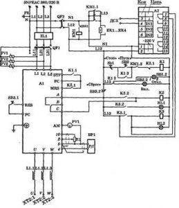 Подключение электрооборудования и защита электродвигателя насоса