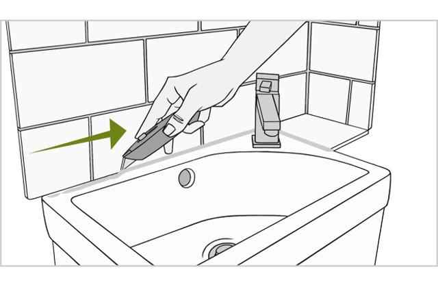 Как установить умывальник