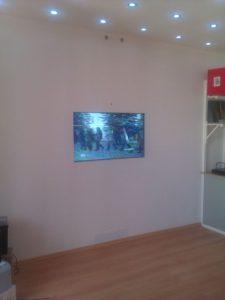 Как установить ЖК телевизор в стену