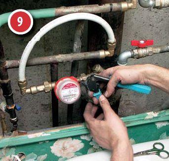 Как установить счетчик воды в квартире