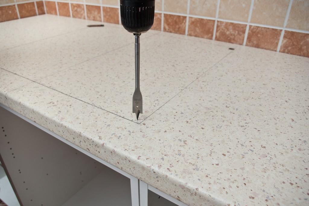 Как вырезать отверстие в столешнице под газовую плиту