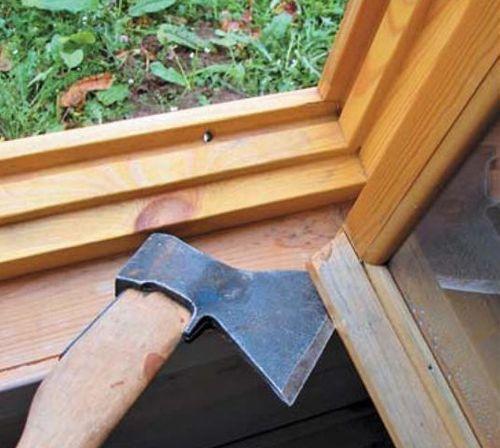Как утеплить деревянные окна к зиме