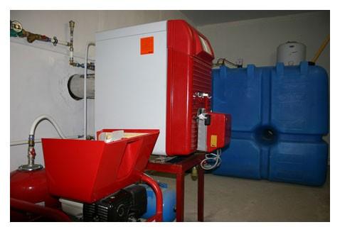 Емкость для дизельного топлива, используемого в отоплении