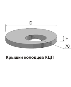 Кольца железобетонные колодезные