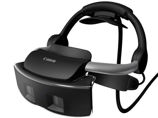 Canon выпустил очки - смешанная система реальности