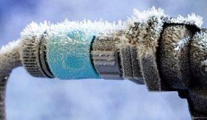 Как разморозить трубу, защита от промерзания