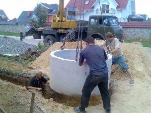 Как выбрать качественное бетонное кольцо