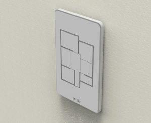 Умный выключатель света в квартире (Умный дом)