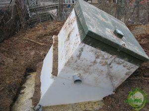Последствия неправильного монтажа очистного сооружения