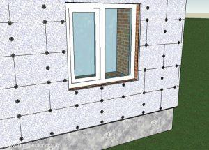 Утепление стен пенопластом своими руками снаружи