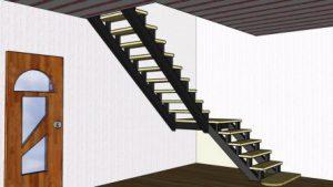 Межэтажная лестница частного дома: Устройство и расчёт  (2)