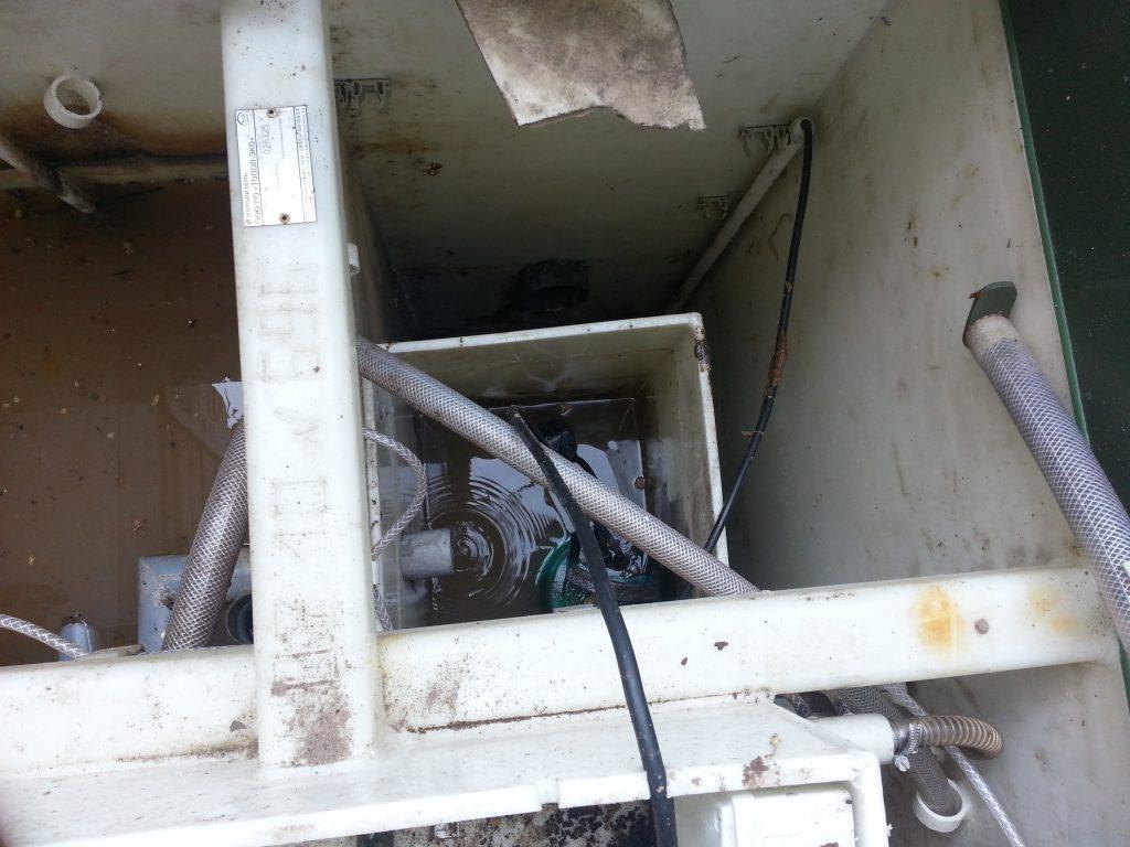 Ремонт автономной канализации