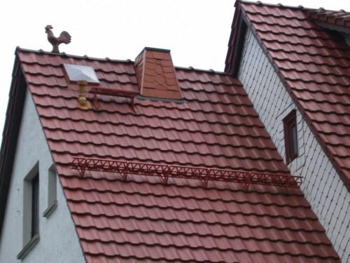 Крыша из черепицы