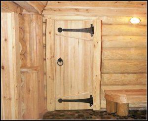 Как сделать двери в баню своими руками