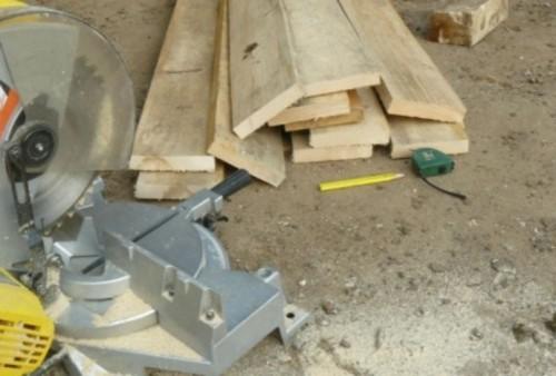 Доски для строительства двери в баню