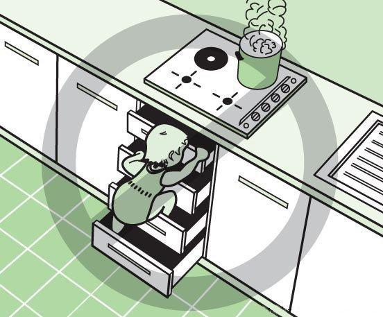 Посудомоечная машина и гарнитур