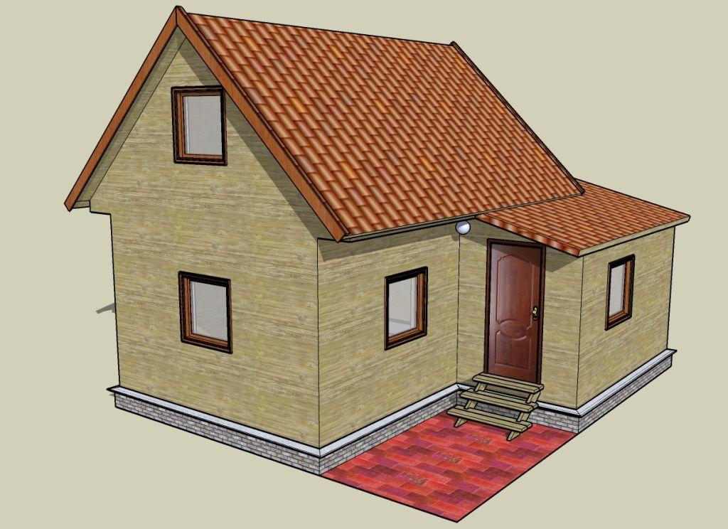 Как строить каркасный дом своими руками