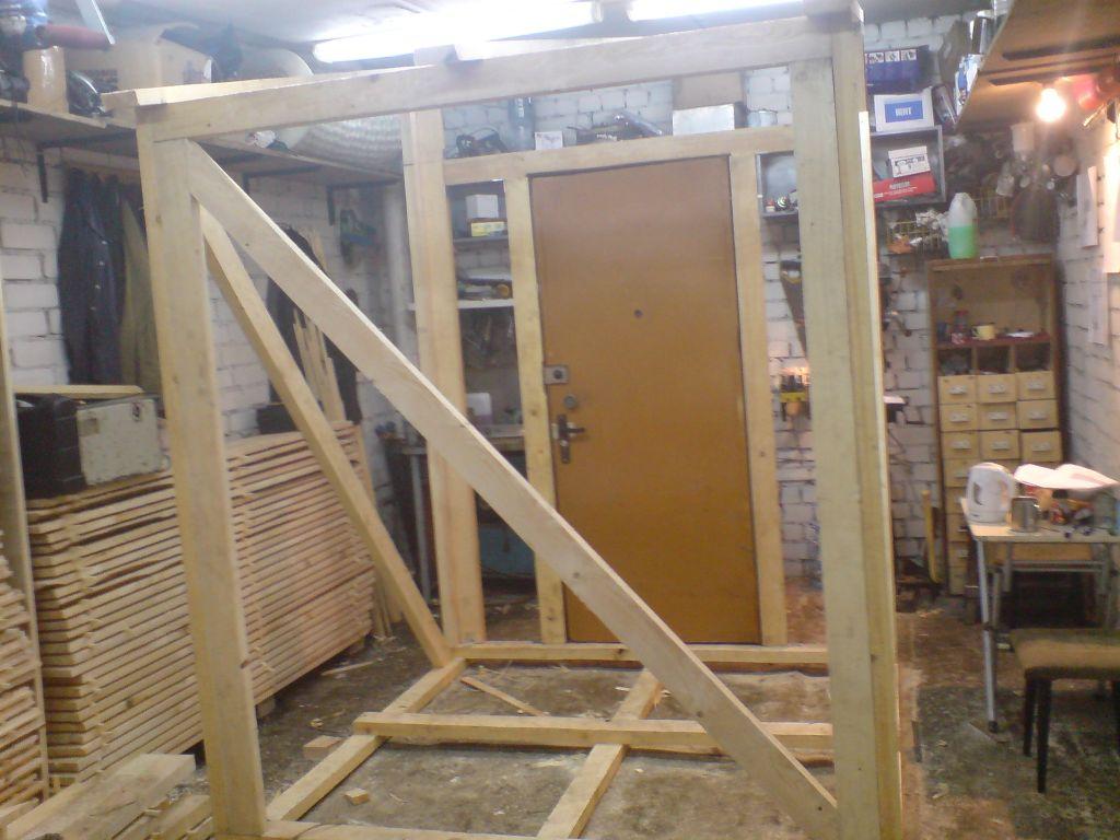изготовление металлических дверей для сарая