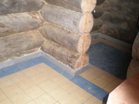Укладка плитки Гидроизоляция пола в бане своими руками