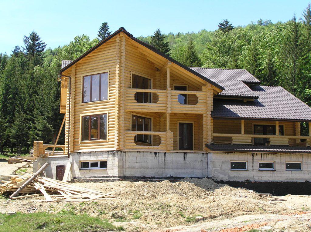 Дом из калиброванного бруса
