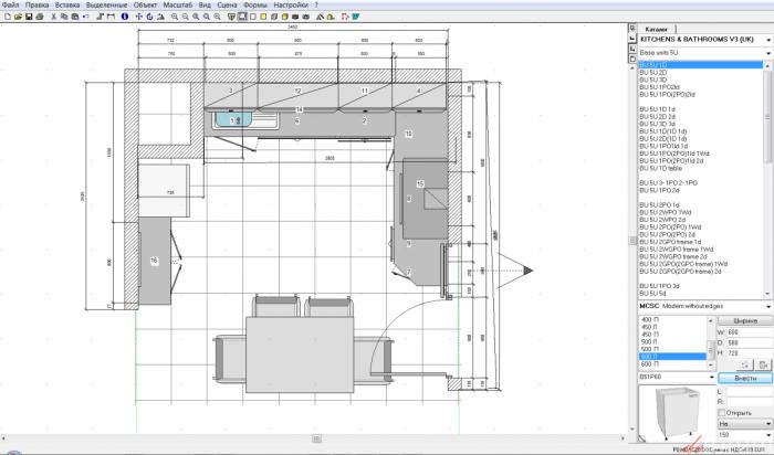 Реалистичный интерьер, созданный в Planner 5D