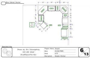 Разработка дизайна кухни в программе 3cad evolution