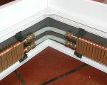 Монтаж плинтусного отопления фото