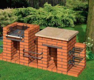 Садовый гриль: проект, размеры и подробные схемы