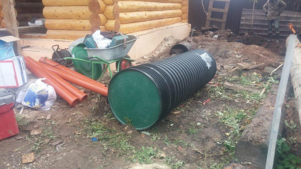 вентиляция для ямы с насосной станцией схема