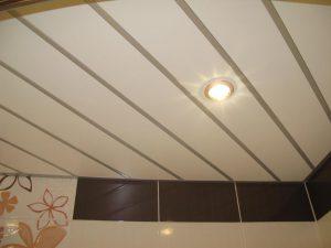 Реечный потолок Албес, монтаж